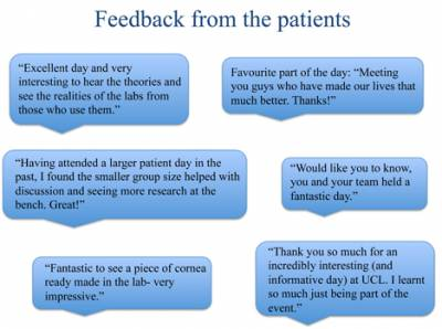 Patients Feedback…