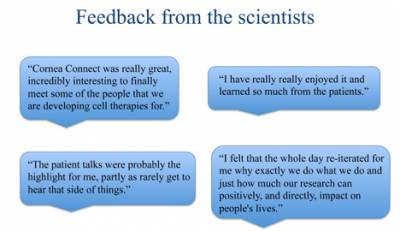 Scientists Feedback…