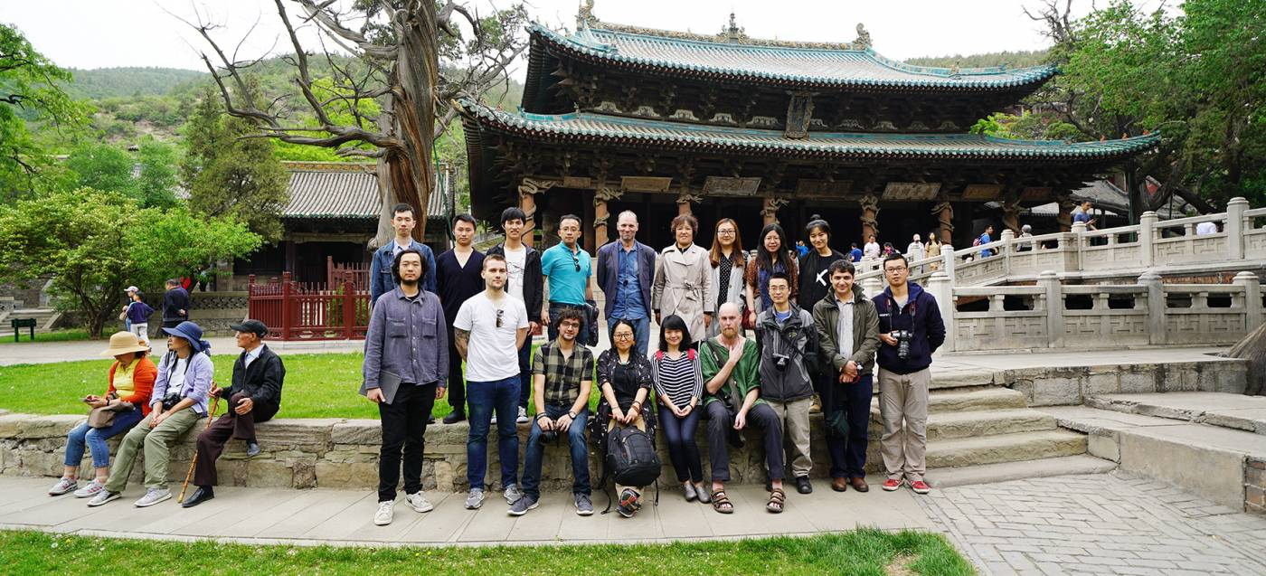 Team at Jinci temple