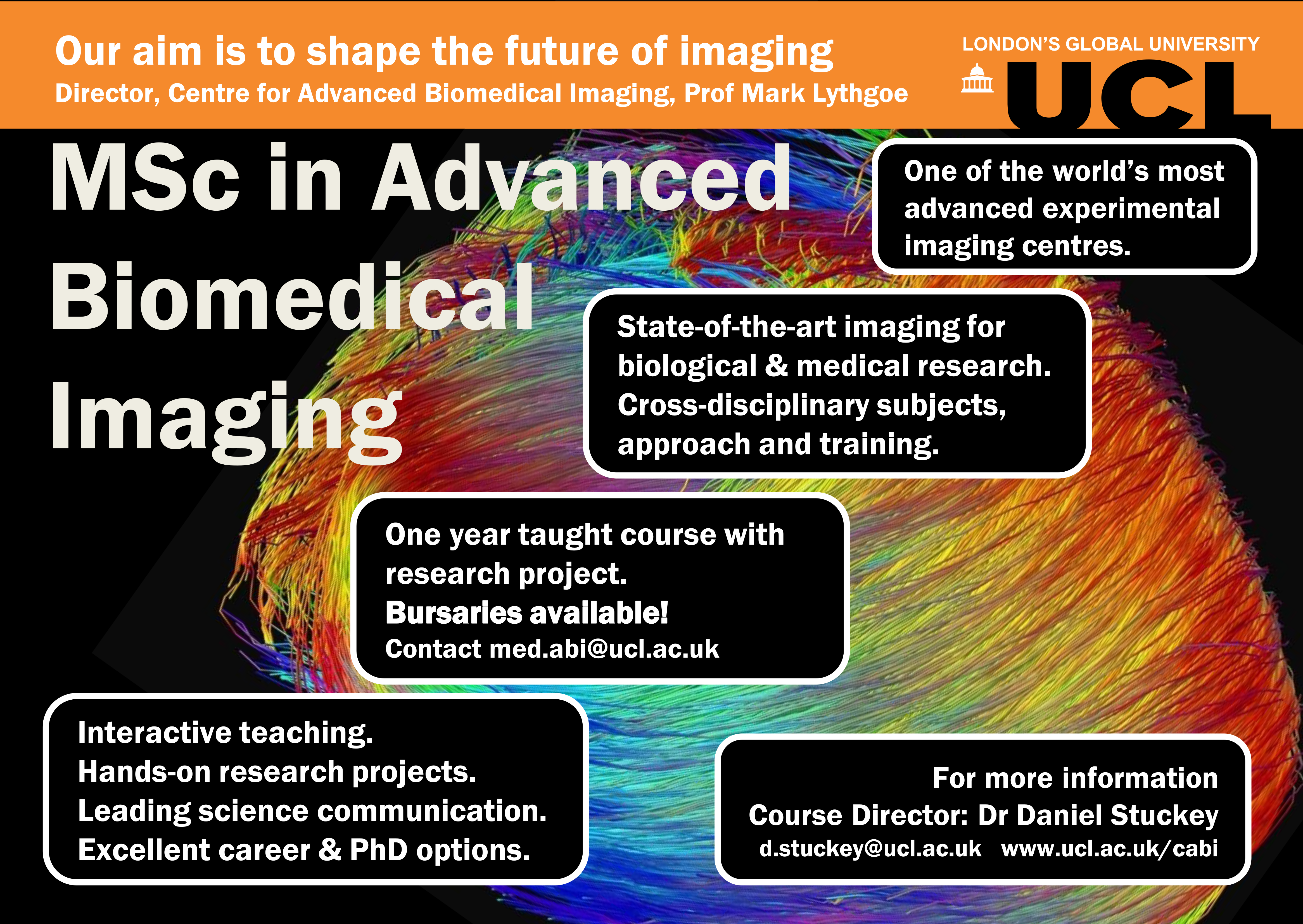 MSc Advanced Biomedical Imaging