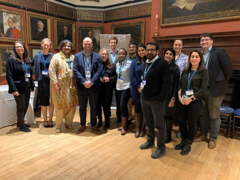 ICGNMD Fellows at Induction Reception Event