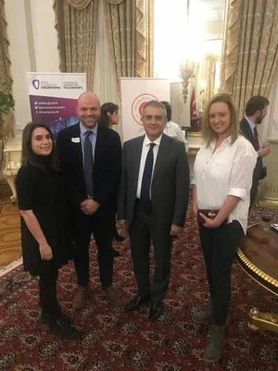 ICGNMD Clinical Tutor and Fellows with Turkish Ambassador