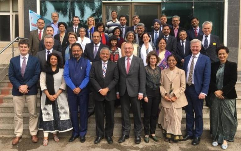 AIIMS and UCL group photo