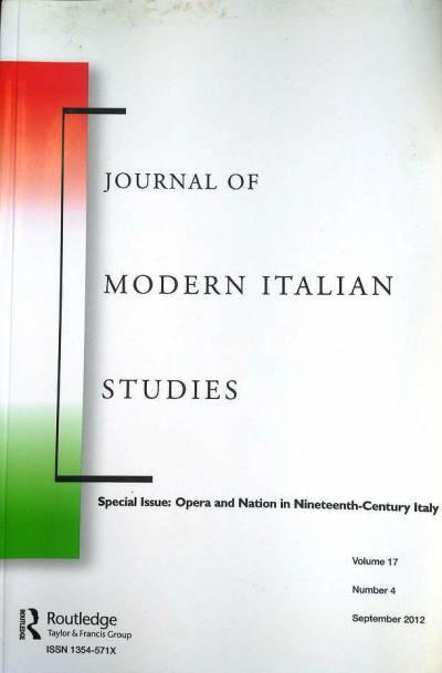Journal of Modern Italian Studies