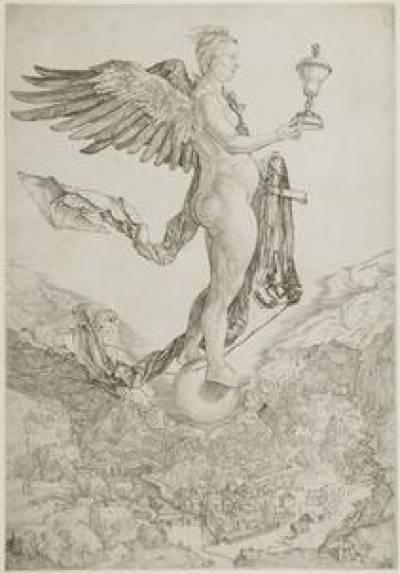 Nemesis by Albrecht Dürer, UCL Art Collections, University College London