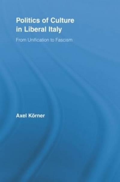 Axel Korner - Politics of Culture...