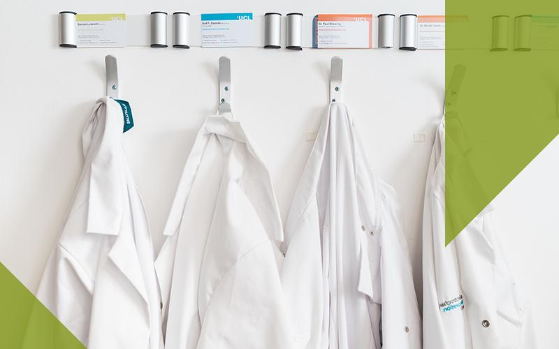 Image of lab coats