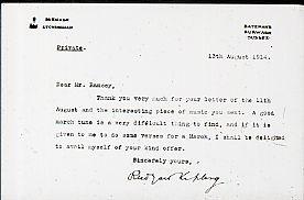 Kipling Letter…