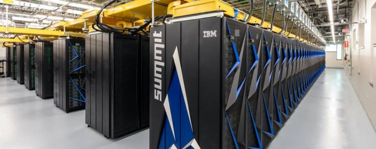 Supercomputer at Oak Ridge Coveney Group