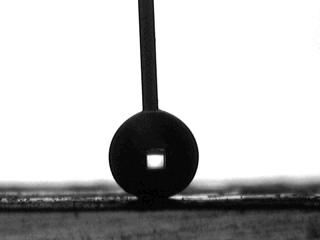 Superhydrophobic drop