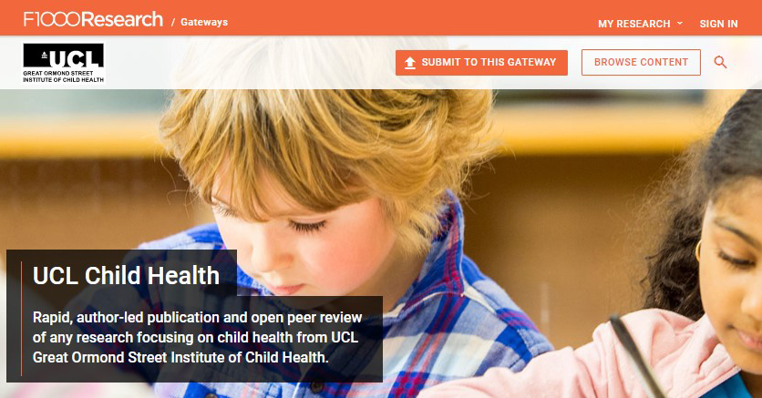 Child Health Open Research