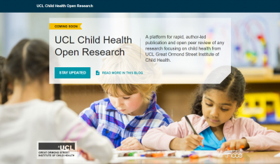 UCL Child Health Open Research