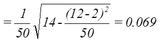 Standard Error of Paired Difference in Proportions Calculation