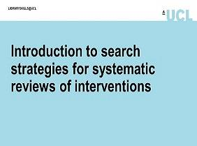 thumbnail for systematic review tutorial
