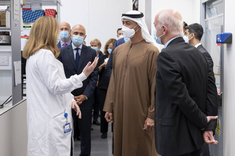 Zayed Centre for Research welcomes VIP visitors