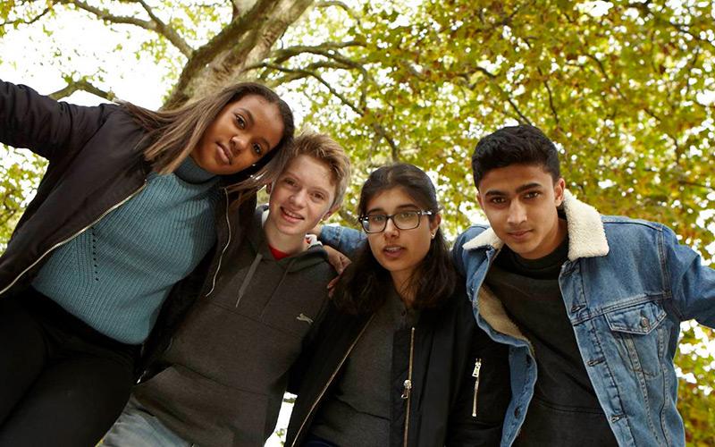 Image of diverse children