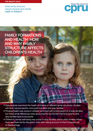 Family formations and health