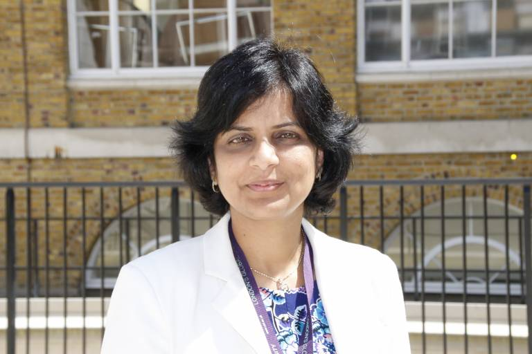 Dr Priti Parikh, Senior Lecturer in UCL's Department of Civil, Environmental and Geomatic Engineering