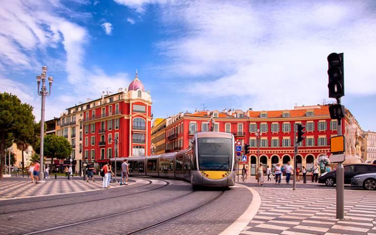 Tram city centre