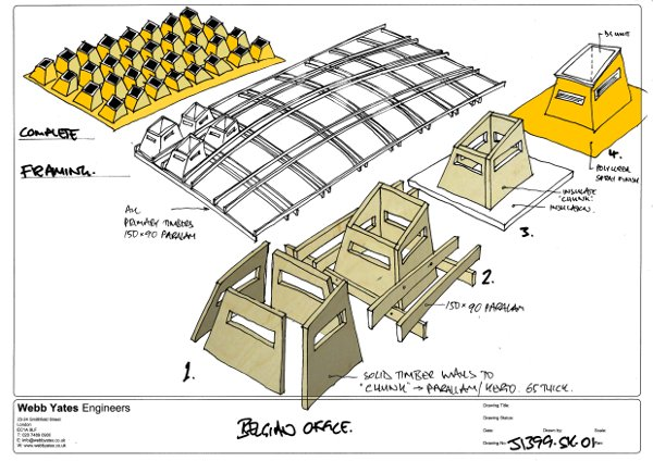 Architectural sketch.
