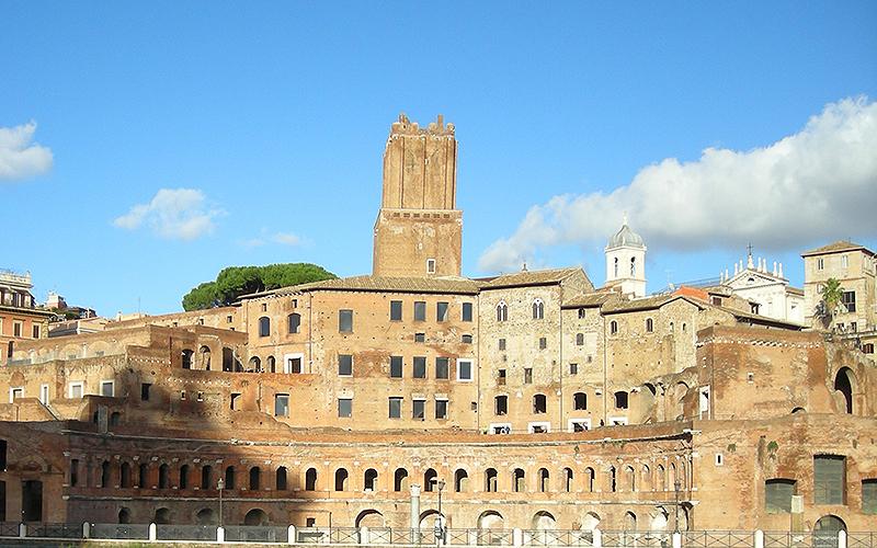 Rome, market of Trajan