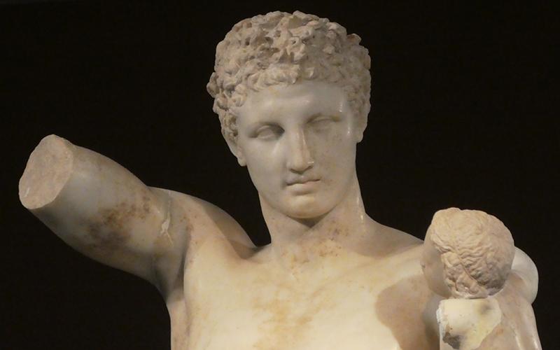Olympia Hermes by Praxiteles