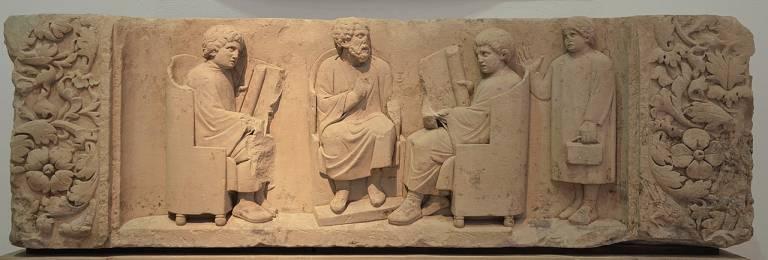 Roman School relief Trier c. 180 CE