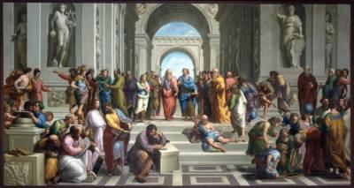 Plato Aristotle by Raphael
