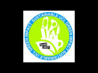 Green Impact Gold Award 2021