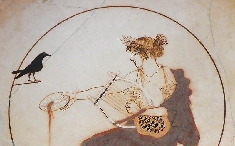Apollo Cup (detail), Delphi Museum