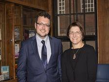 Professor Ioannis Lianos and Renata Hesse