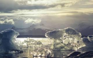 Sea and ice