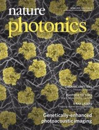 front cover Nature Photonics