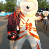 Thumbnail: Gill Gregory with Wenlock