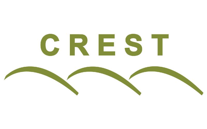 Crest logo teaser image green