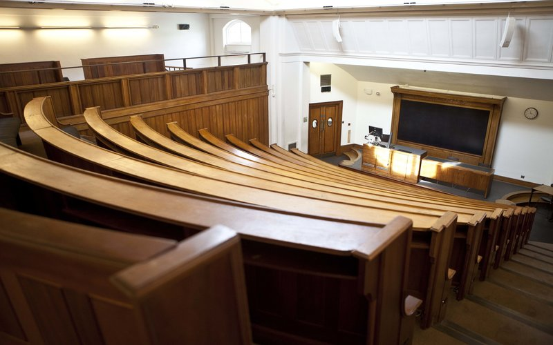 Traditional lecture theatre