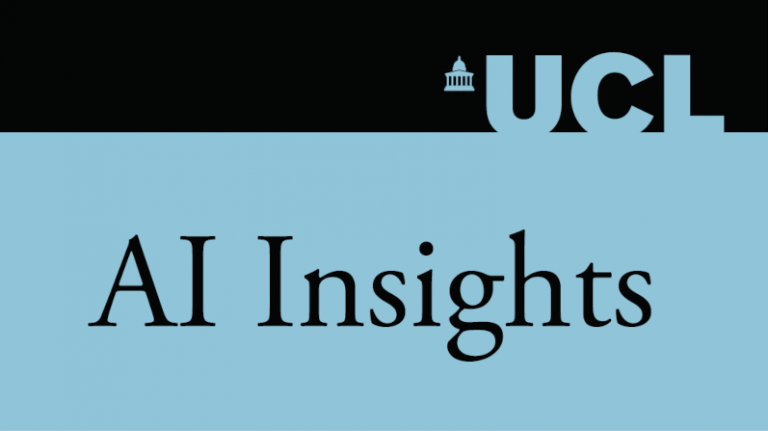 AI Insights logo in black and blue