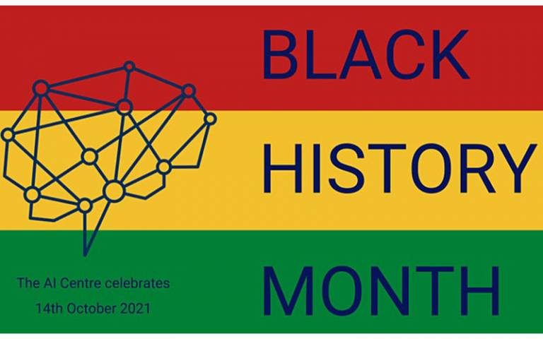Poster for AI Black History Month