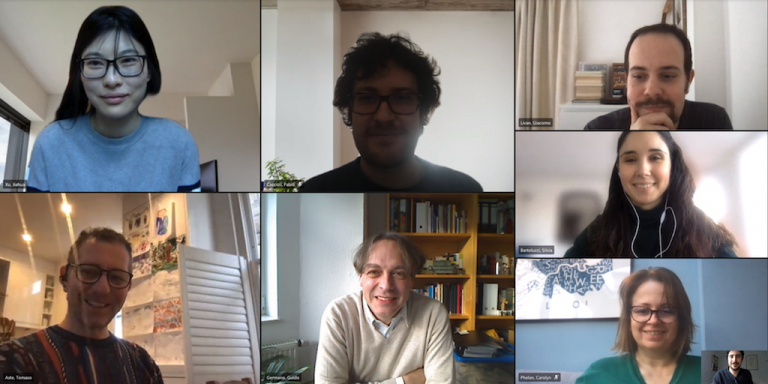 8 members of the Financial Computing and Analytics Group, 22 January 2021
