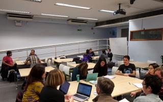 Students at an Athena Swan Fellowship Writing Workshop