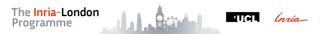 Inria London Programme banner style logo