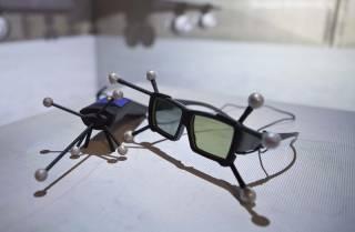 VR cave glasses