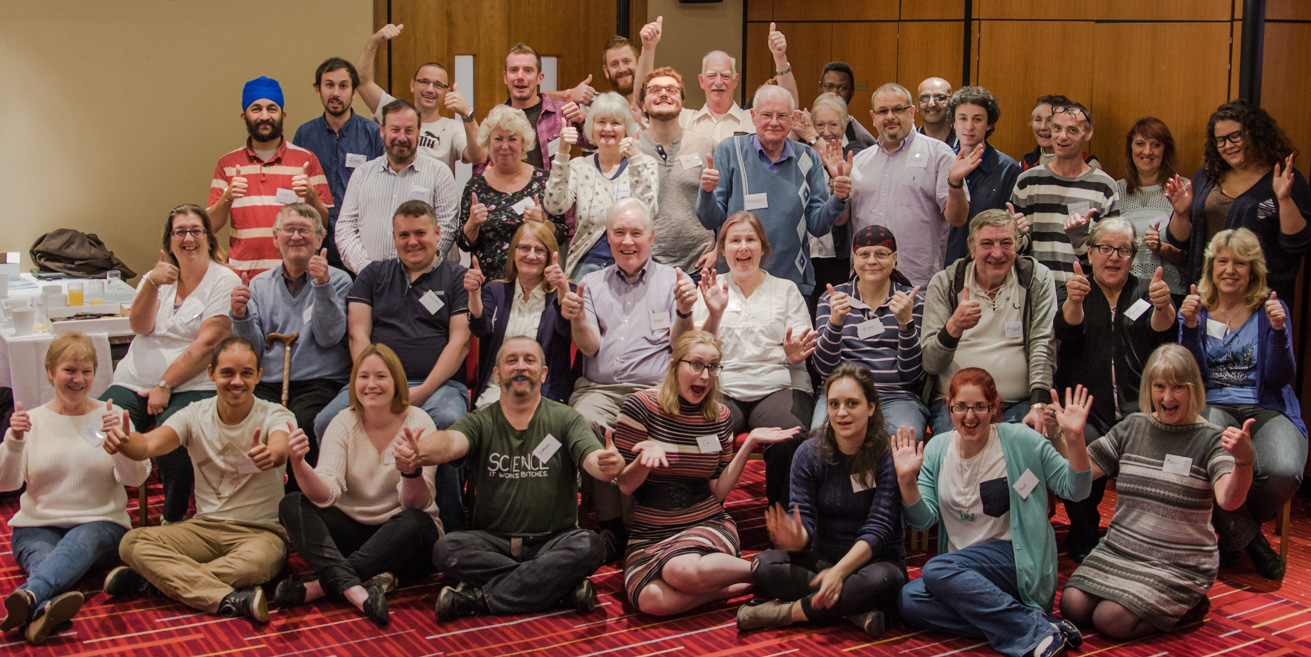 Citizens' Assembly on Brexit group photo members