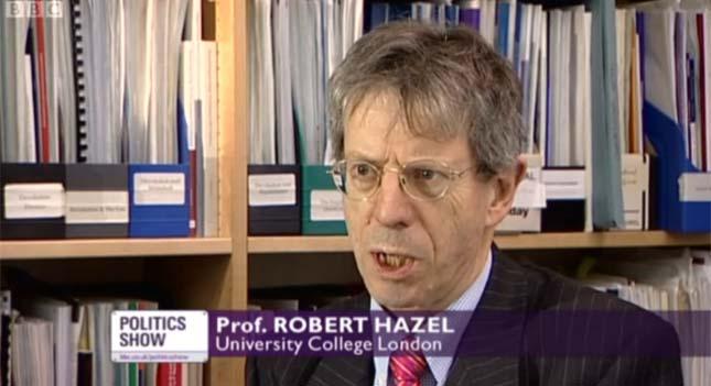Prof Robert Hazell