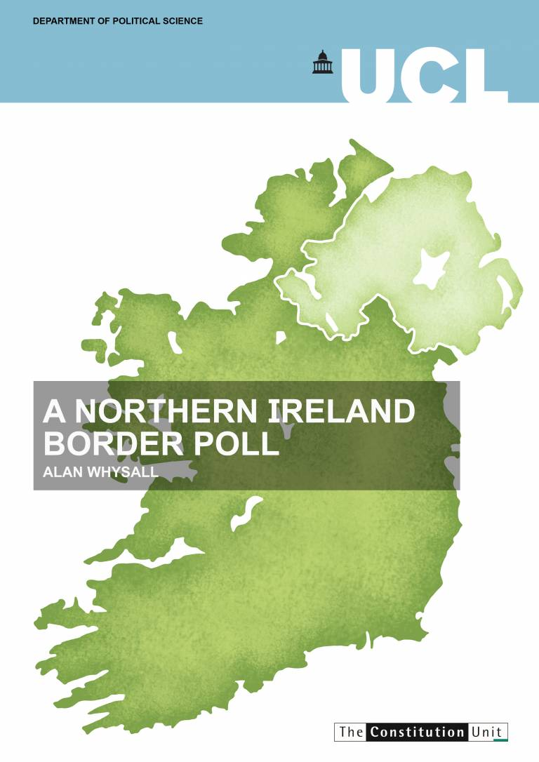 A Northern Ireland Border Poll - Report Cover