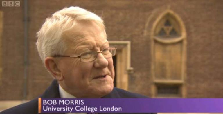 Bob Morris on the Daily Politics