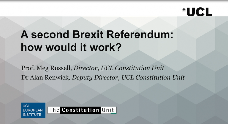 A second Brexit Referendum: how would it work? video