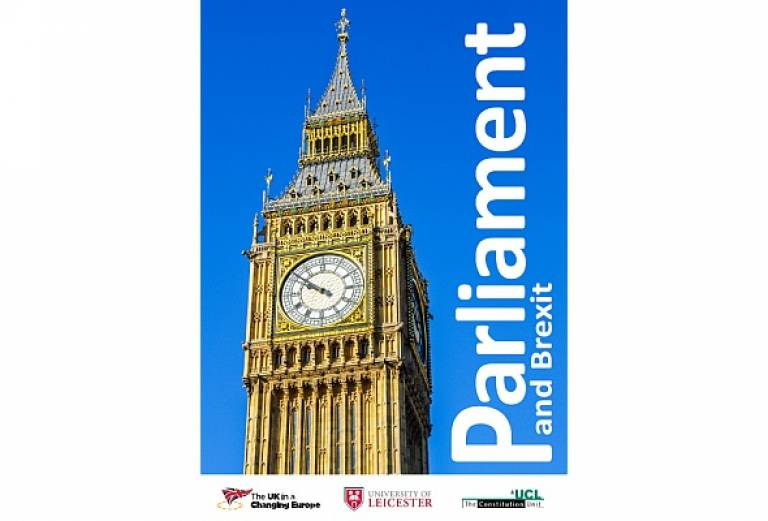 Parliament and Brexit report