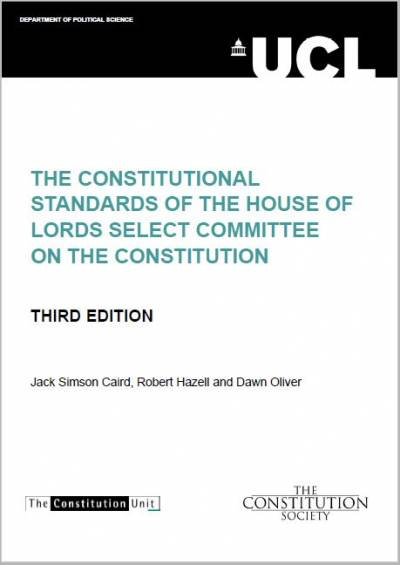 Constitutional Standard 3rd Edition
