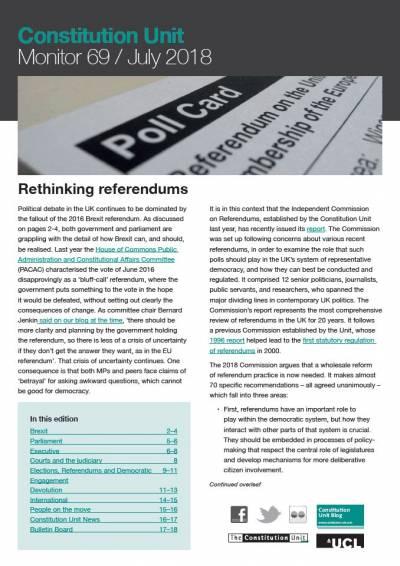 Monitor 69 Rethinking Referendums